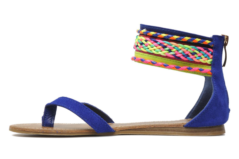 Sandales et nu-pieds Les Tropéziennes par M Belarbi Goa Bleu vue face