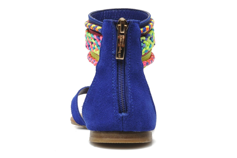 Sandales et nu-pieds Les Tropéziennes par M Belarbi Goa Bleu vue droite