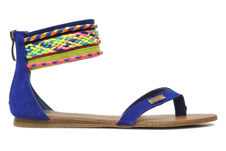 Sandales et nu-pieds Les Tropéziennes par M Belarbi Goa Bleu vue derrière