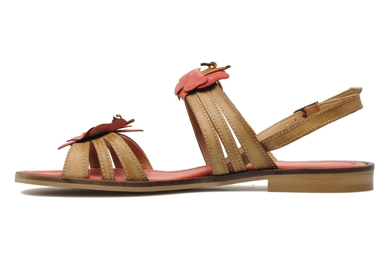 Sandalen Samoa Montilla Beige voorkant