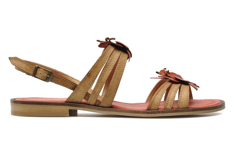 Sandalen Samoa Montilla Beige achterkant
