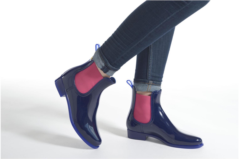 Bottines et boots Lemon Jelly Pisa Bleu vue bas / vue portée sac
