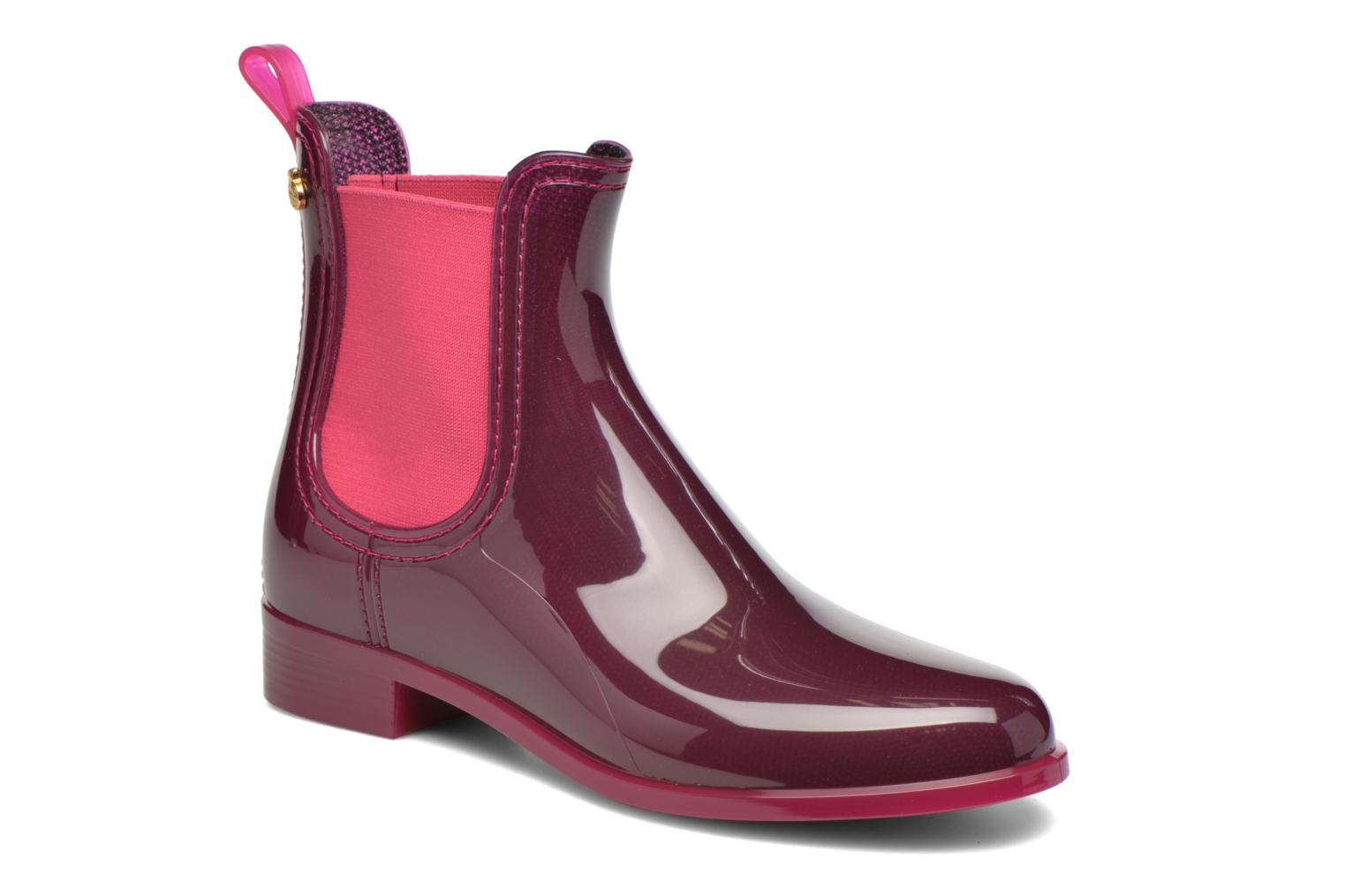 Ankle boots Lemon Jelly Pisa Purple detailed view/ Pair view