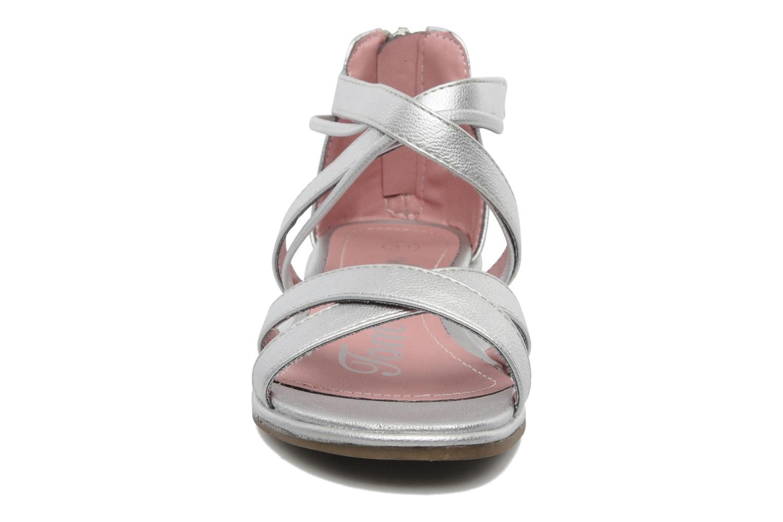 Sandales et nu-pieds Tom Tailor chamoy Argent vue portées chaussures