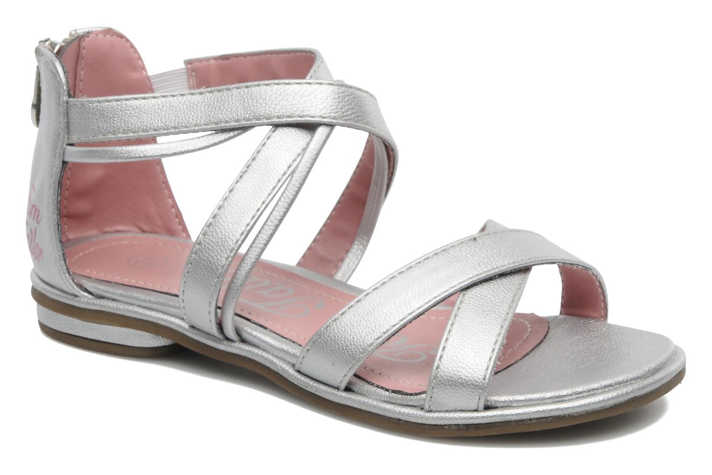 Sandales et nu-pieds Tom Tailor chamoy Argent vue détail/paire