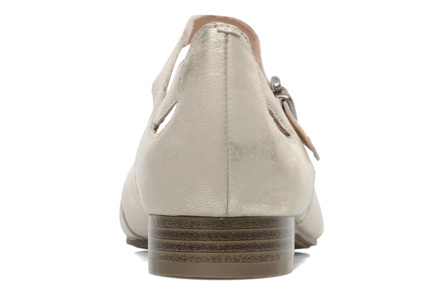 Ballet pumps Karston Cepi Beige view from the right