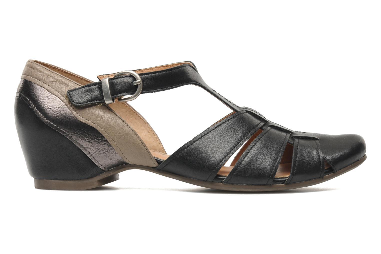 Sandales et nu-pieds Karston Kyza Noir vue derrière