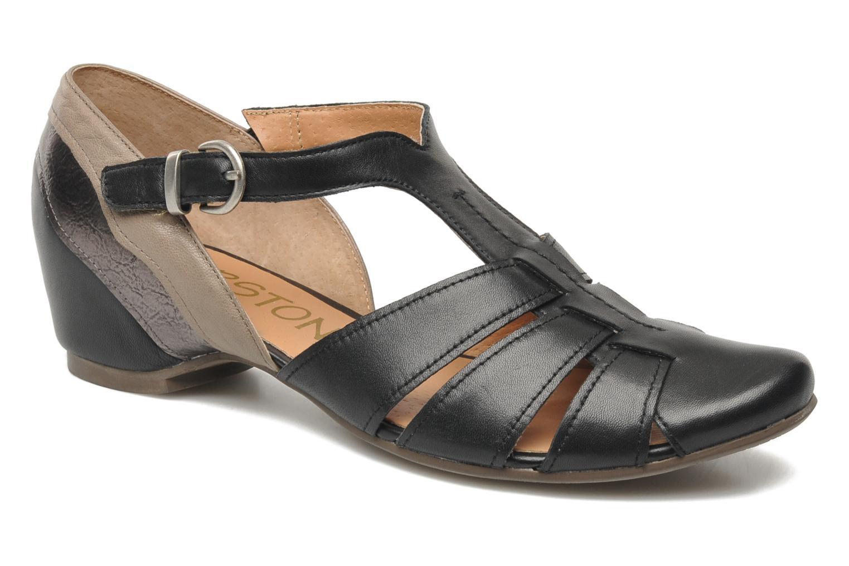 Sandales et nu-pieds Karston Kyza Noir vue détail/paire