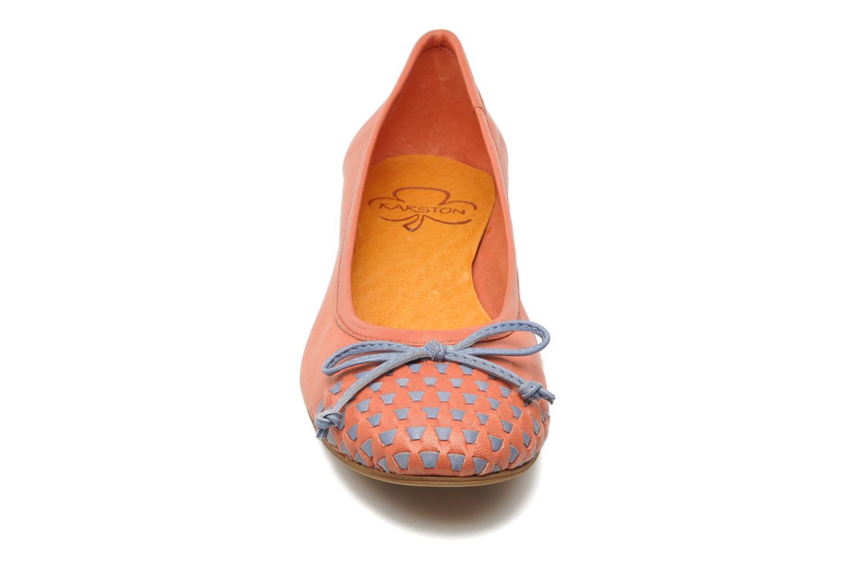 Ballerines Karston Yaela Rose vue portées chaussures