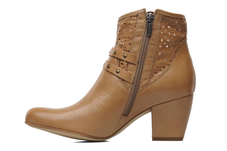 Boots en enkellaarsjes Karston Glaxel Beige voorkant