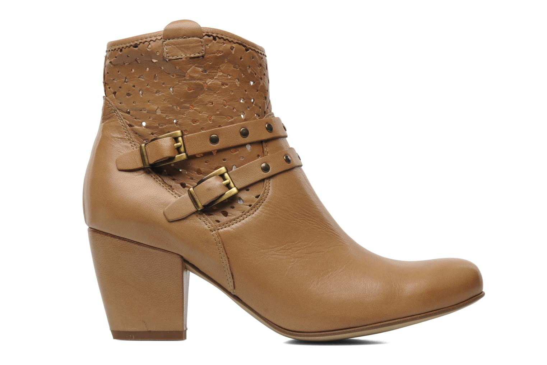 Boots en enkellaarsjes Karston Glaxel Beige achterkant
