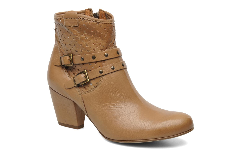 Boots en enkellaarsjes Karston Glaxel Beige detail