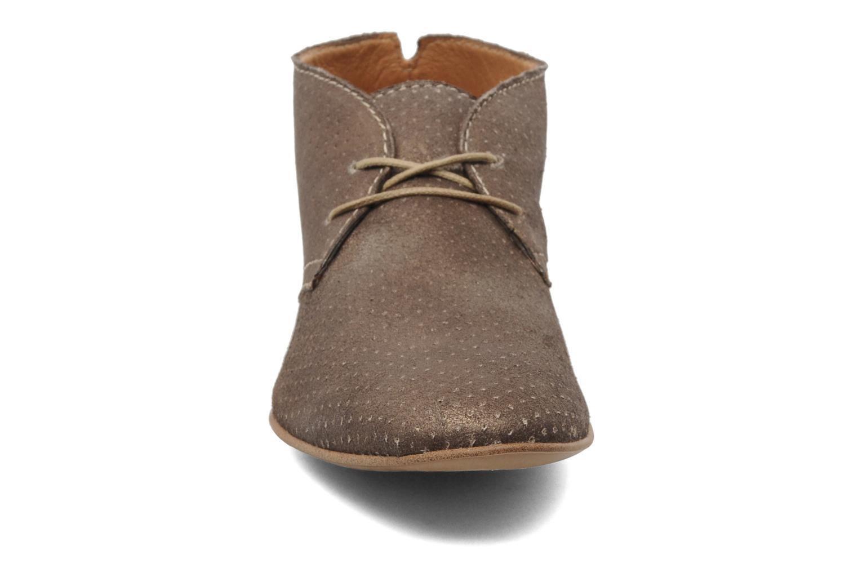 Chaussures à lacets Karston Jolin Or et bronze vue portées chaussures