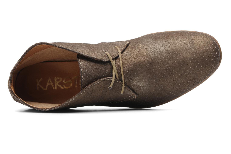 Chaussures à lacets Karston Jolin Or et bronze vue gauche