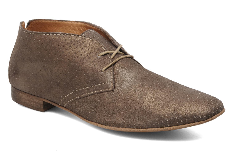 Chaussures à lacets Karston Jolin Or et bronze vue détail/paire
