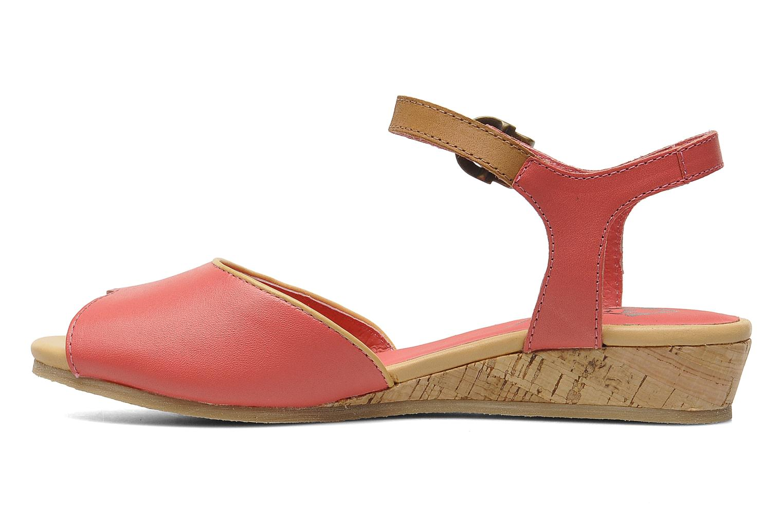 Sandales et nu-pieds Kickers Coco Rose vue face