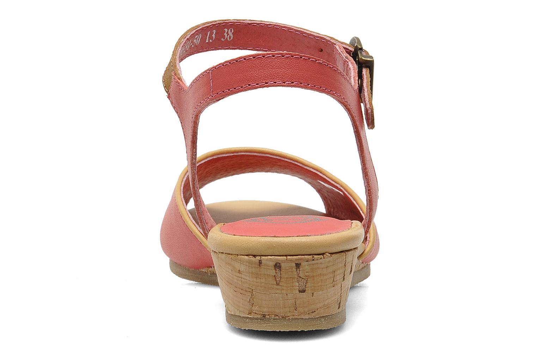 Sandales et nu-pieds Kickers Coco Rose vue droite