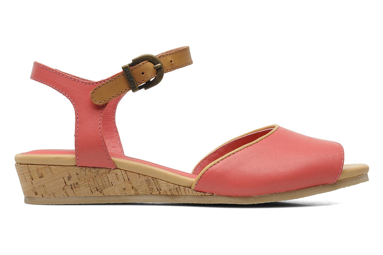 Sandales et nu-pieds Kickers Coco Rose vue derrière