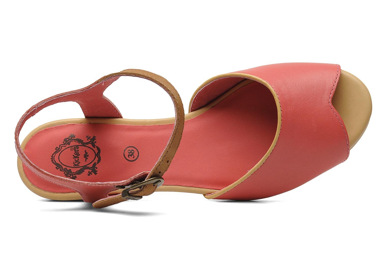 Sandales et nu-pieds Kickers Coco Rose vue gauche