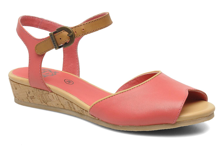 Sandales et nu-pieds Kickers Coco Rose vue détail/paire