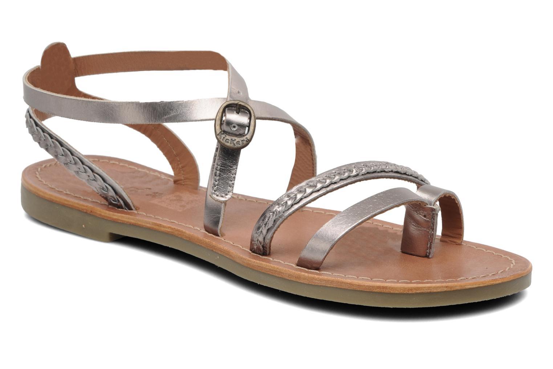 Sandalen Kickers Djapan silber detaillierte ansicht/modell