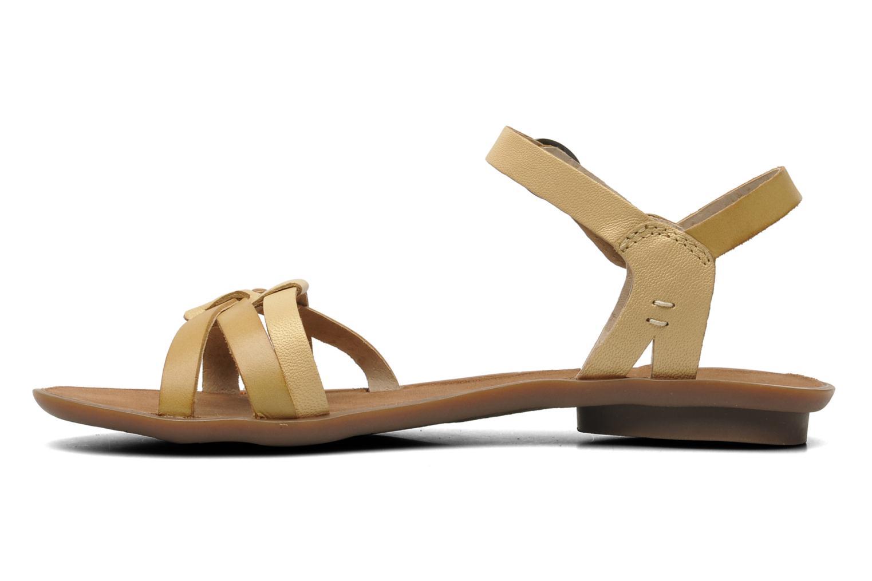 Sandalen Kickers Zephir Beige voorkant