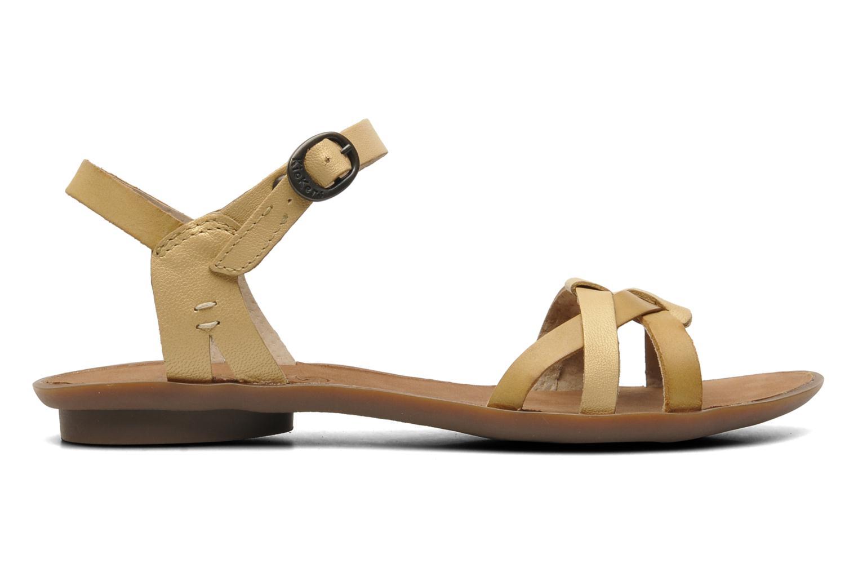 Sandales et nu-pieds Kickers Zephir Beige vue derrière
