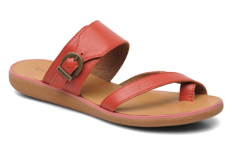 Sandalen Kickers Hypy rot detaillierte ansicht/modell