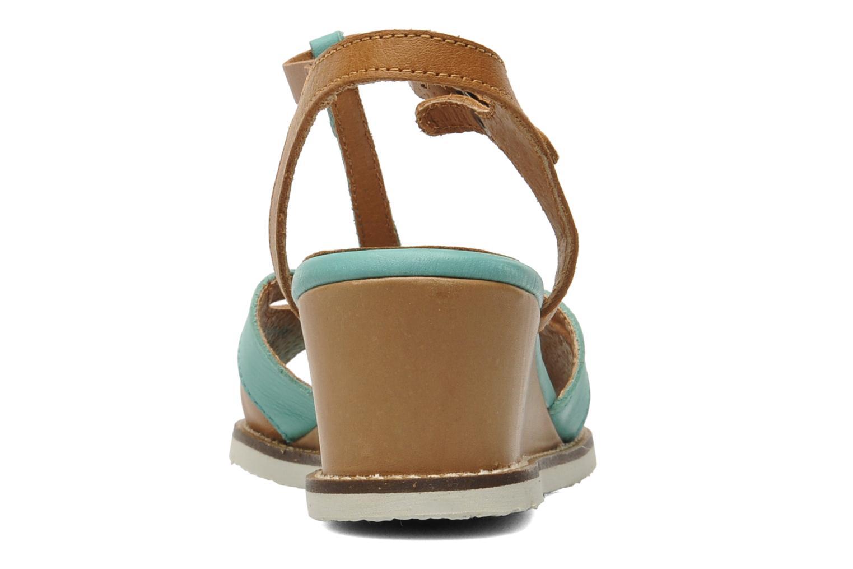 Sandales et nu-pieds Kickers Seshuan Vert vue droite