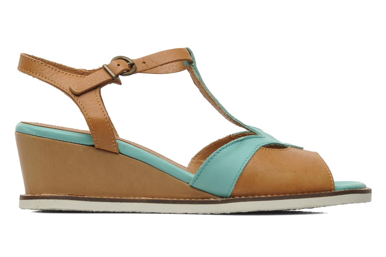 Sandalen Kickers Seshuan grün ansicht von hinten