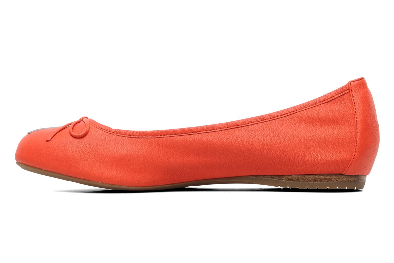 Ballerinas Madison Clune orange ansicht von vorne