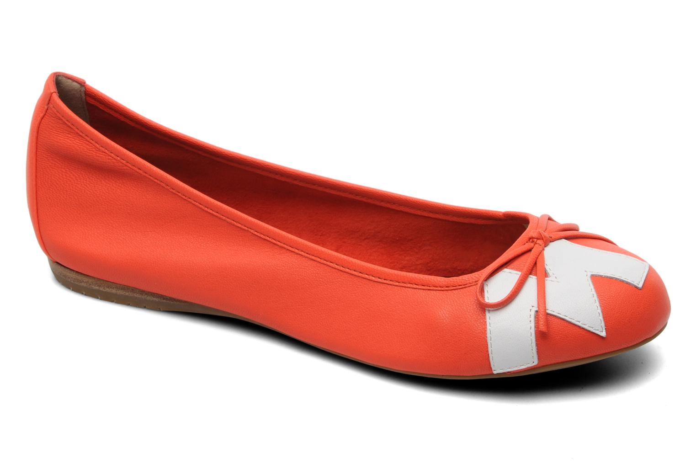 Ballerinas Madison Clune orange detaillierte ansicht/modell