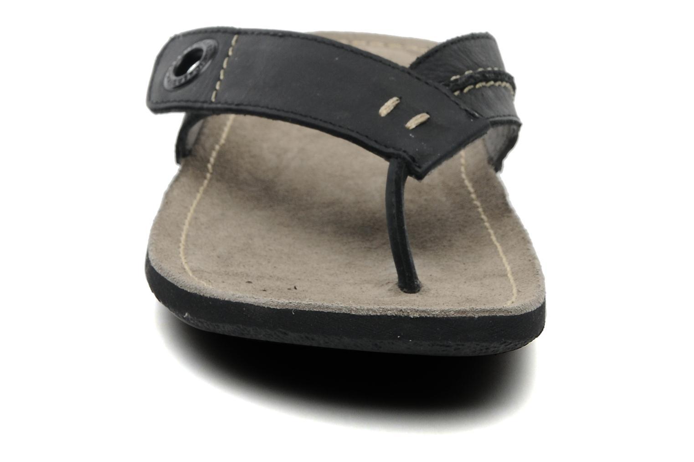 Zehensandalen Kickers Spacy schwarz schuhe getragen