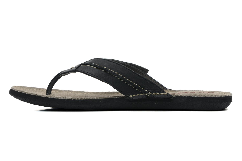 Slippers Kickers Spacy Zwart voorkant