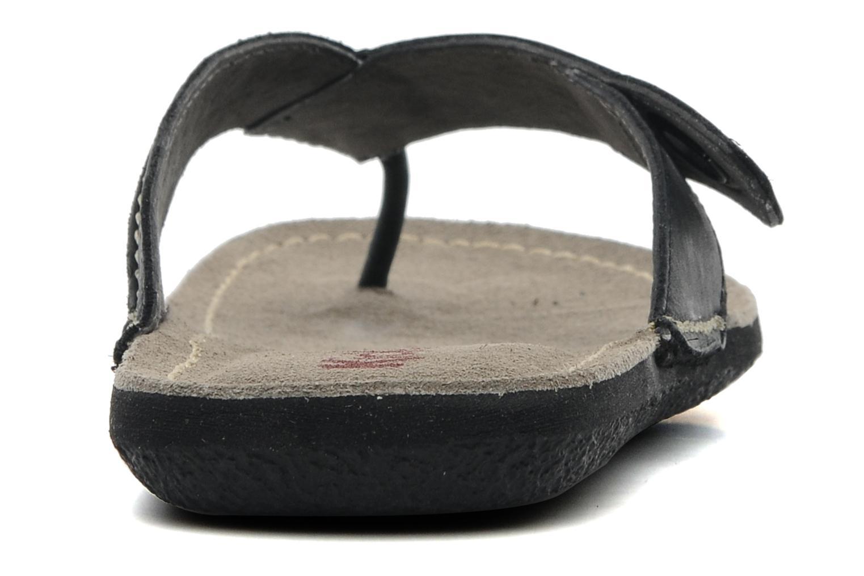 Slippers Kickers Spacy Zwart rechts