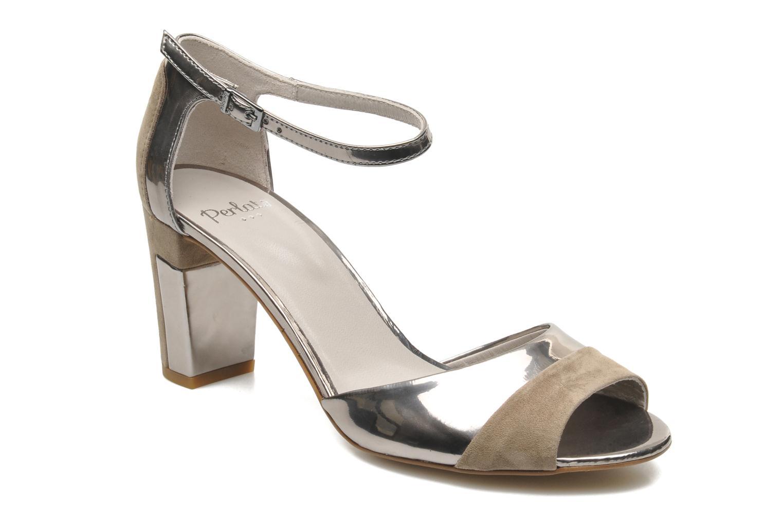 Sandalen Perlato Pone silber detaillierte ansicht/modell