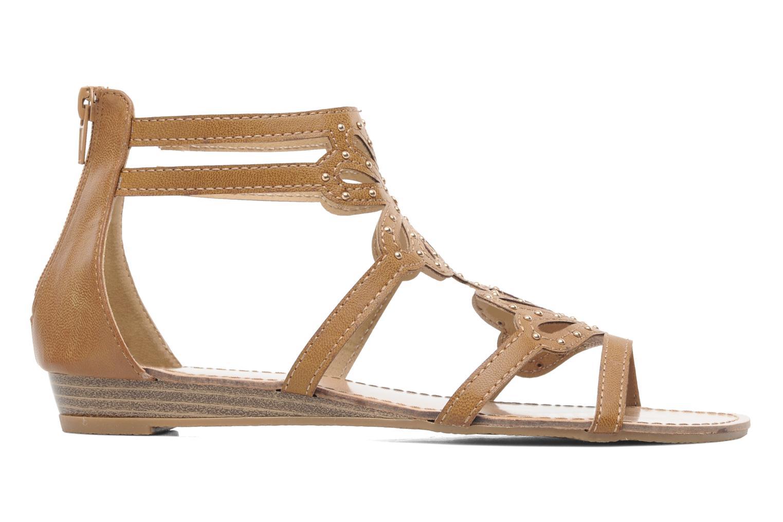Sandales et nu-pieds Latinas Calla Marron vue derrière