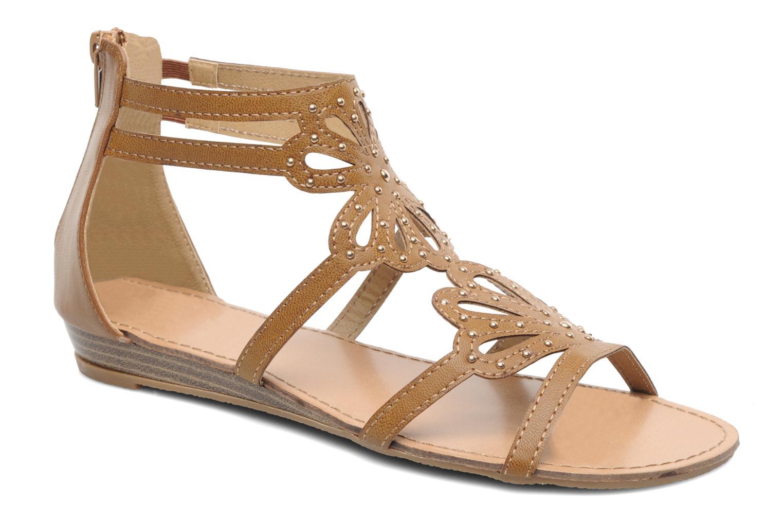 Sandales et nu-pieds Latinas Calla Marron vue détail/paire