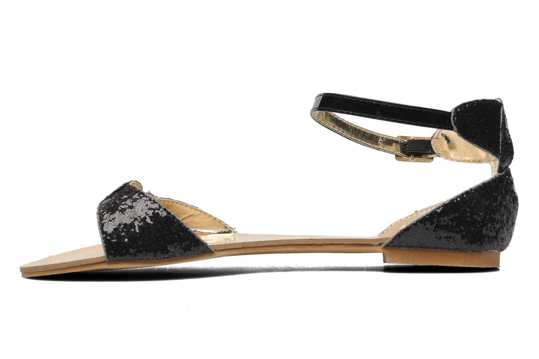 Sandalen Latinas Dylis Zwart voorkant