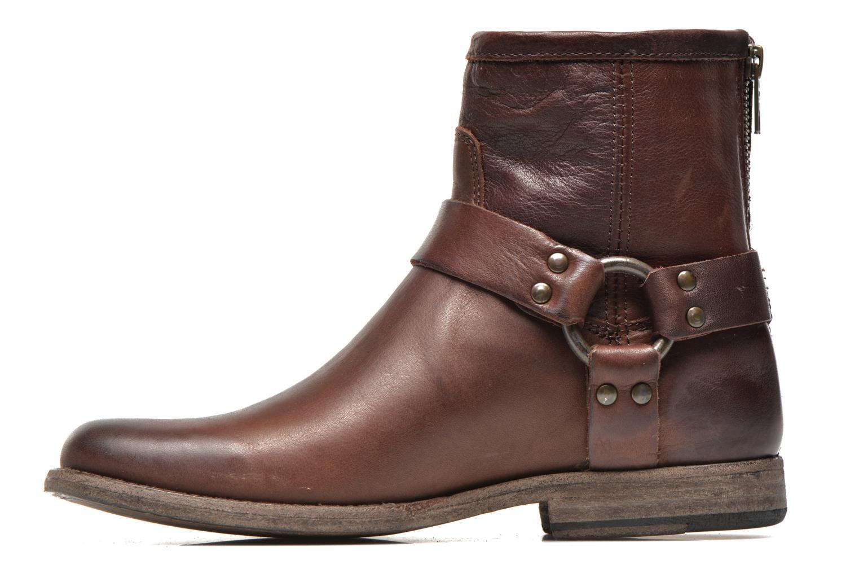 Stiefeletten & Boots Frye Phillip Harness W braun ansicht von vorne