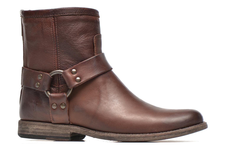 Stiefeletten & Boots Frye Phillip Harness W braun ansicht von hinten