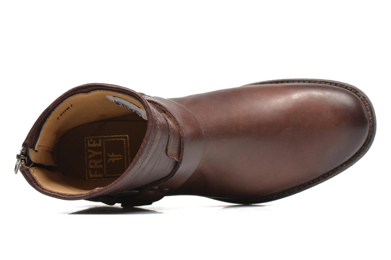 Stiefeletten & Boots Frye Phillip Harness W braun ansicht von links