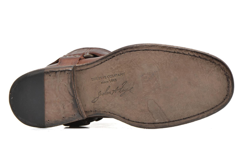 Stiefeletten & Boots Frye Phillip Harness W braun ansicht von oben