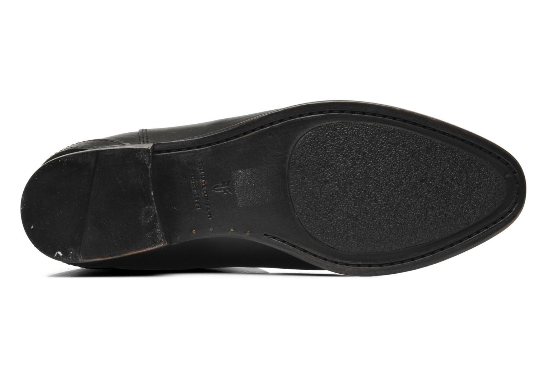 Bottes Frye Lindsay Plate Noir vue haut