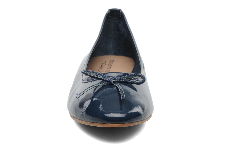 Ballerines Elizabeth Stuart Cesarine 655 Bleu vue portées chaussures