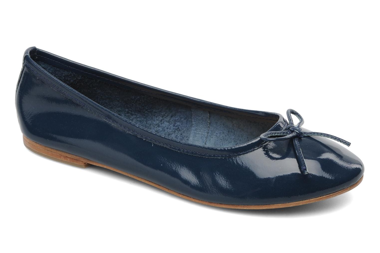Ballerines Elizabeth Stuart Cesarine 655 Bleu vue détail/paire