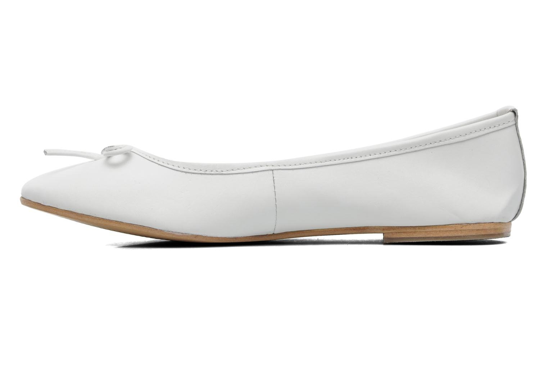 Ballerina's Elizabeth Stuart Cesarine 830 Wit voorkant