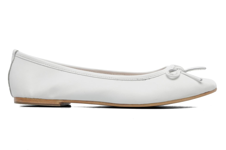 Ballerina's Elizabeth Stuart Cesarine 830 Wit achterkant