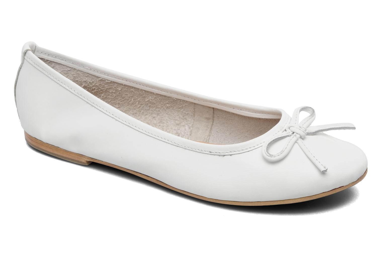 Elizabeth Stuart CESARINE 830 BLANC - Chaussures Ballerines Femme