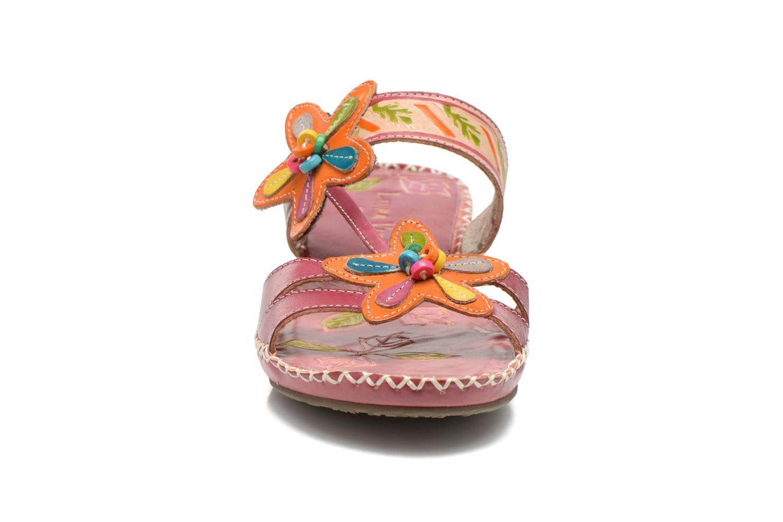 Mules et sabots Laura Vita Peggie Multicolore vue portées chaussures